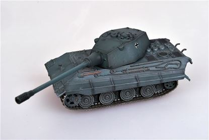 Picture of German WWII E-75 Heavy Tank with 128 gun, 1946, German Grey Color